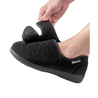 Silverts SV10260 Womens Stretchable Comfort Hugster Shoe/Slipper