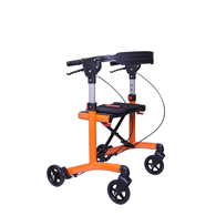 "Triumph Mobility 500-20203 Escape Mini Rollator-Low 20"" Seat-Orange"