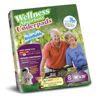 "Unique Wellness 8130 Absorbent Underpads-30""x36""-48/Case"